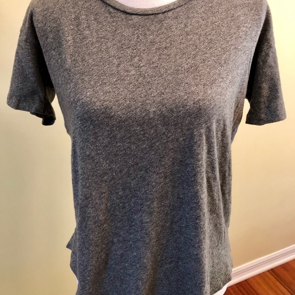 Madewell Tops - Madewell heathered grey super soft shirt small